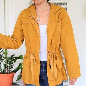 J. Crew Mustard Yellow Utility Jacket